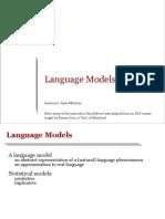 1 Language Models