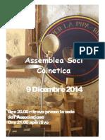 assemblea coinetica dicembre 2014