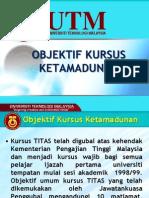 Pengenalan Objektif TITAS