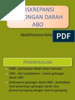 3. Tutor Imunologi - Diskrepansi Golongan Darah Abo