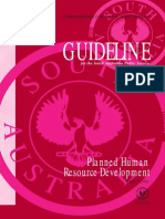 Planned Human Resource Development