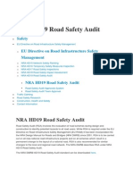 NRA HD19 Road Safety Audit