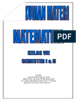 Agus Setyawan Rangkuman Materi Matematika SMP Klas 7