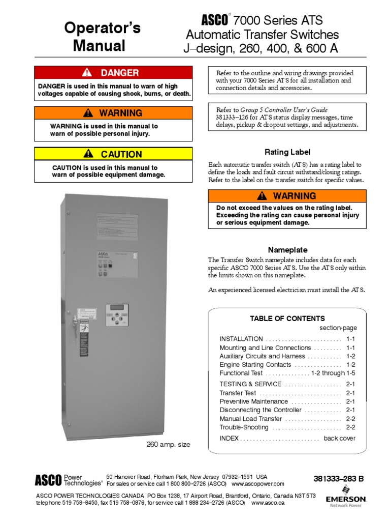 508 Asco 7000 Series Operators Manual 381333 283b Switch Cable Limit Wiring Diagram