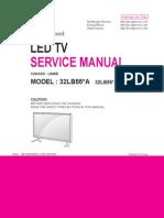 2014 Led Lg 32lb55-A-t- Chassis Lb45b