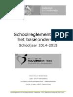Schoolreglement September 2014