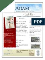 Adam English Pattern