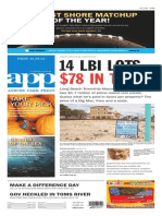 Asbury Park Press front page Friday, Oct. 24 2014