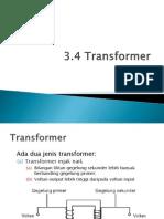 3.4 Transformer