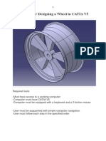 Designing a Wheel in CATIA V5.pdf