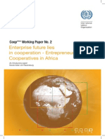 Enterprise Future Lies in Cooperation - Entrepreneur Cooperatives in Africa