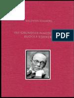 Valentin Tomberg - Die Grundsteinmeditation Rudolf Steiners