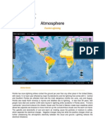 atmosphere map and data