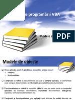Curs-13 Modele de Obiecte Vba