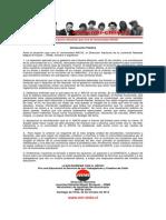 JRME - Ante la crisis de ARCIS - 23 de OCTUBRE de 2014