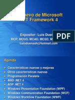 02 Lo Nuevo de Microsoft .NET Framework 4.ppt