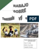 Trabajo economia, Tanzania y España.doc
