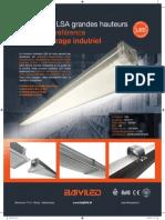 Luminaires LSA Grandes Hauteurs, la nouvelle référence pour l'éclairage industriel