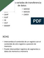 Instrucciones variadas de transferencia de datos.pptx