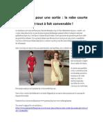 la robe courte de soirée est tout à fait convenable pour une sortie.pdf