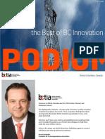PODIUM - Best of BC Innovation - BCTIA