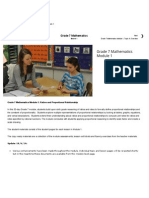 Grade 7 Mathematics Module 1