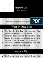 machine gun - wwi