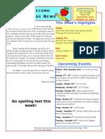 October 24 Newsletter