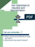 6  christian responses to prejudice and discrimination pp