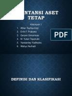 Definisi Dan Klasifikasi Aset Tetap