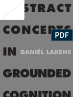 Lakens - Abstract Concepts in Grounded Cognition