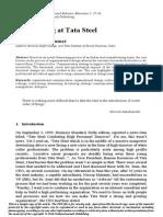 Delayering at Tata Steel