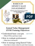 Earned Value Management NCMA Workshop_June08
