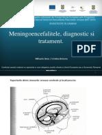 41 Meningoencefalitele,Diagnostic Si Tratament