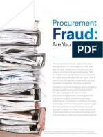 Procurement Fraud - Are You Prepared