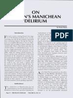On Fanon's Manichean Delirium