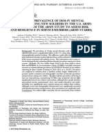 Lifetime Prevalence of DSM-IV Mental Disorders Among New Soldiers in the U.S. Army
