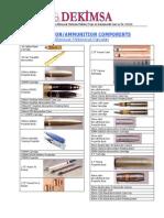 Ammunition Dekimsa Catalogue