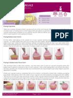 Cupcake Piping Guide