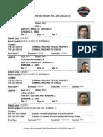 public arrest report for 24oct2014