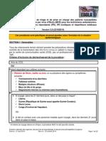 Procédure Ebola Finale version 3.0 2014-10-23