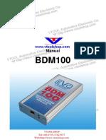Bdm100 User Manual