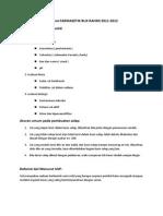 Jawaban Farmasetik Buk Rahmi 2011