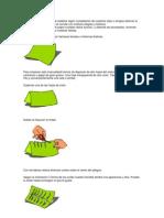 fabricación de un farolillo