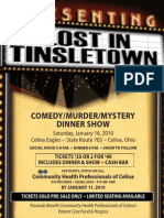 Dinner Theatre COLOR Poster