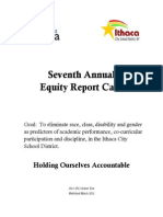 Equity Report Card 2012
