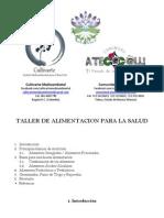 Taller de Alimentacion Para La Salud - Comunidad Atecocolli / Cultivarte Medioambiental