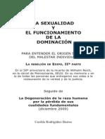 La Sexualidad y el funcionamiento de la dominación -Casilda Rodriganez