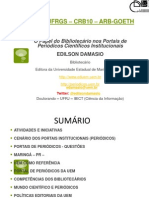 Edilson Damasio FURG 2013 papel bibliotecarios.pptx