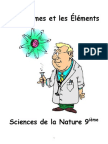 science 10f - notes atomes et elements